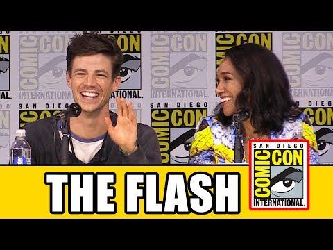THE FLASH Comic Con Panel  Season 4,  & Highlights