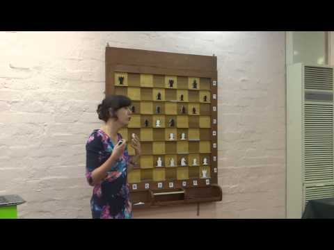 WGM Julia Ryjanova lecture: the art of exchanging pieces (part 1)