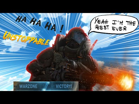 How to get a easy win in Warzone (Joggernaut madness) |
