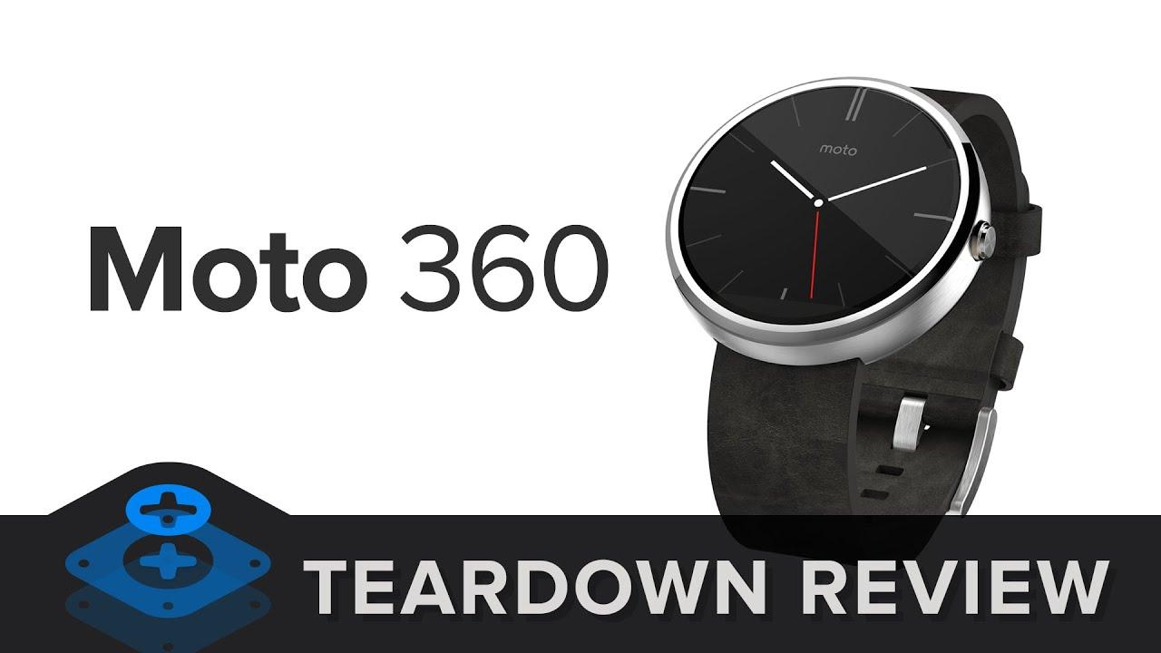 Motorola Moto 360 Teardown - iFixit