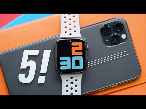 Apple Watch Series 5 Review: One Big Tradeoff!