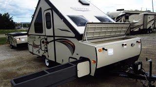 HaylettRV.com - 2015/2016 Rockwood Hardside A212HW  Highwall A-Frame Popup Camper