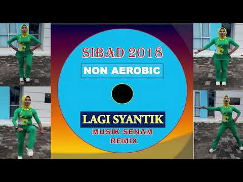 SIBAD 2018 NON AEROBIC LAGI SYANTIK REMIX - MUSIK SENAM