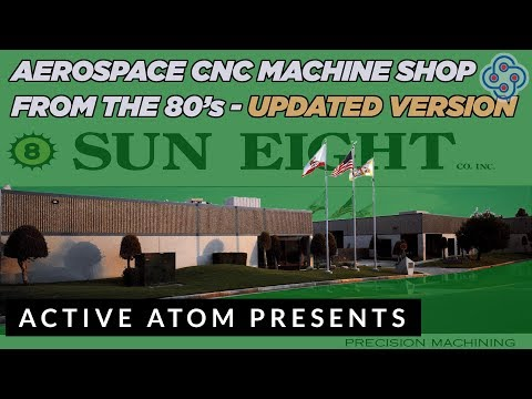 Aerospace CNC Machine Shop from the 80's - Narrated by Lance