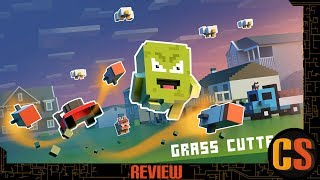 GRASS CUTTER: MUTATED LAWNS - PS4 REVIEW (Video Game Video Review)