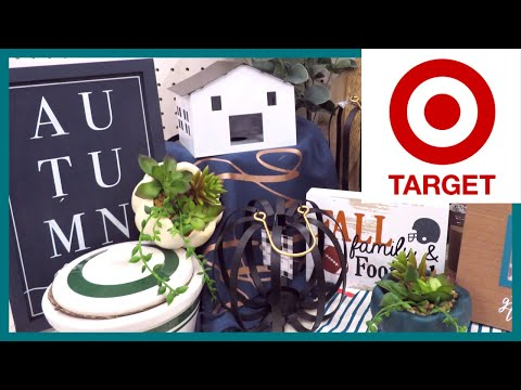 NEW TARGET DOLLAR SPOT FALL DECOR 2019