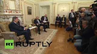 Russia: Putin meets Finnish President Niinisto to discuss fall in trade