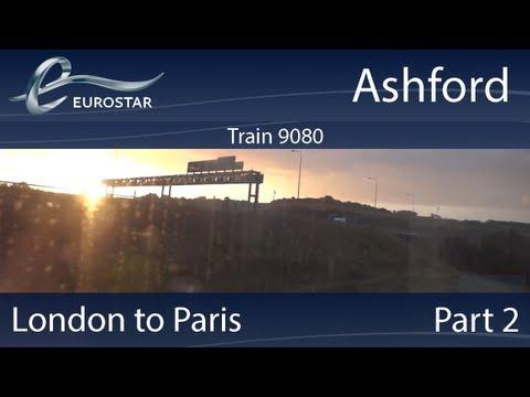 Eurostar: London to Paris: Part 2: Ashford