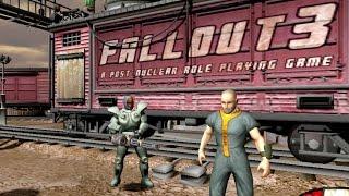 Fallout 3 / Van Buren tech demo | Cancelled PC Game