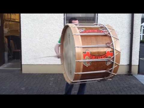 Lambeg Drumming at