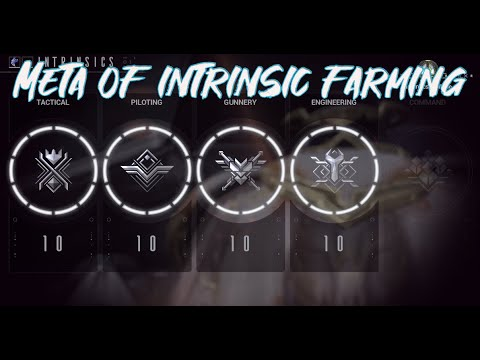 Solo Method For Intrinsic Farming   25+ Points In 10 Minutes - Railjack