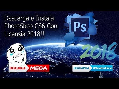 Descargar E Instalar Photoshop CS6 Full Con Licencia| 2018 |Tutorial Loquendo|