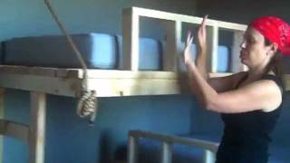 Twin Beds Hung from Wall (Pt 5)