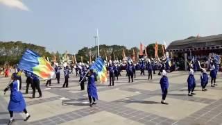 Marching Band Gita Smansa Purwodadi acara hut BRI