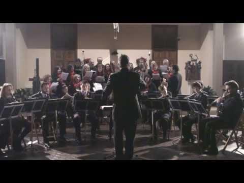 Coro Tre Ponti - Iubilate Deo (D. Anselmi) - 18 dicembre 2010