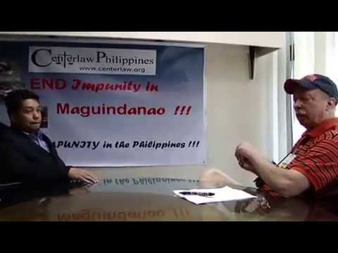 Interview with prosecuting attorney for Philippine Massacre