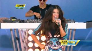 BLACK EYED PEAS - Rock That Body live  Good Morning America 2010