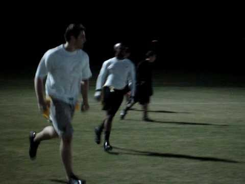 Best Football Play Fake Snap!!! 2007 FSU Flag Football D-1 Soulja Boys (13) vs Sig Ep (0)