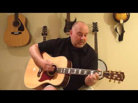 How to Play Pancho and Lefty - Townes Van Zandt (cover) - Easy 4 Chord Tune