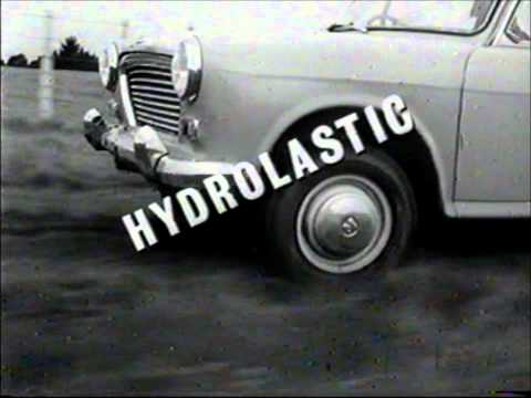 Morris 1100 New Zealand TV commercial.