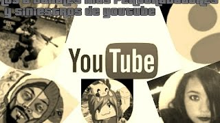 Video TOP 6 LOS CANALES MAS SINIESTROS Y ATERRADORES DE YUOTUBE-PICKACHIRDO download MP3, 3GP, MP4, WEBM, AVI, FLV April 2018