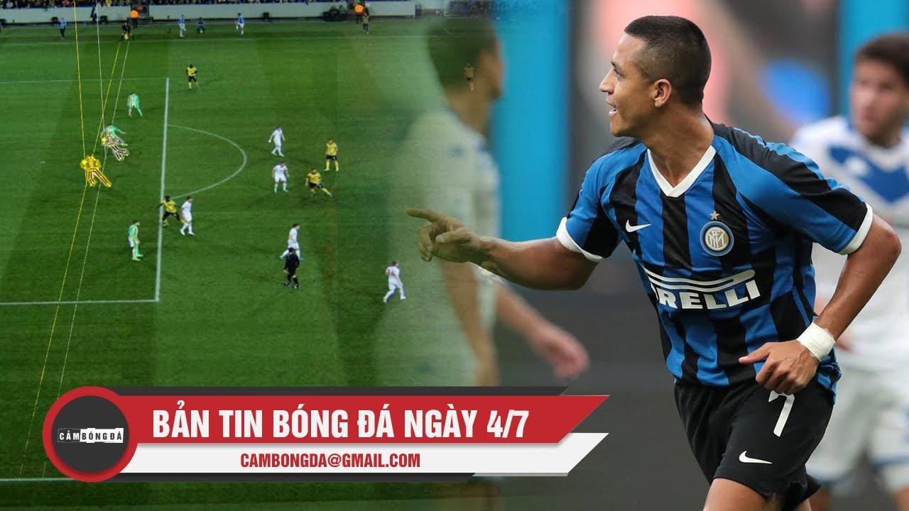 Bản tin Cảm Bóng Đá ngày 4/7 | FIFA thử nghiệm trọng tài robot; Inter muốn giải cứu Sanchez