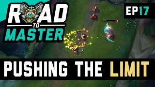 PUSHING THE LIMIT - Ezreal ADC Road to Master Ep 17 (League of Legends)