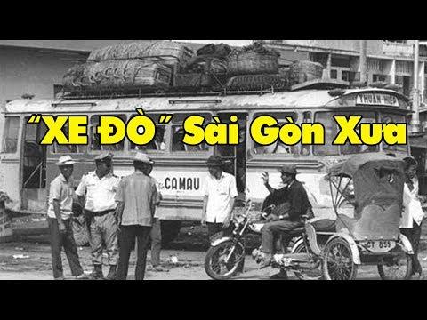 Xe đò Sài Gòn Xưa Trước 1975 #KýỨcSàiGòn