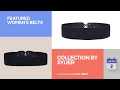Collection By Syuer Featured Women's Belts