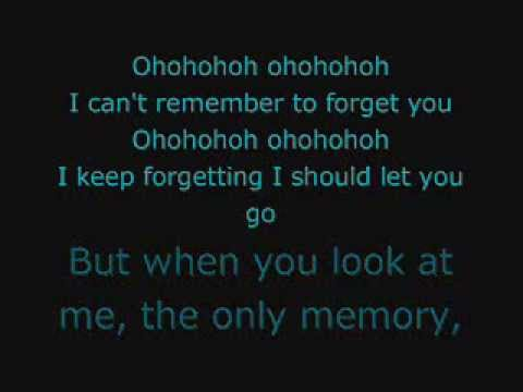 Shakira - Can't Remember to Forget You ft. Rihanna (Lyrics)