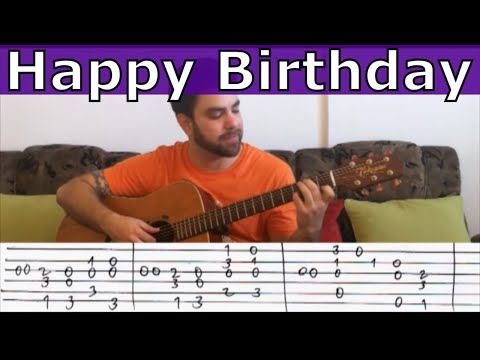 Fingerstyle Tutorial: Happy Birthday (