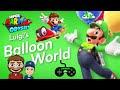 Super Mario Odyssey Luigi's Balloon World - Nintendo Switch Game Play
