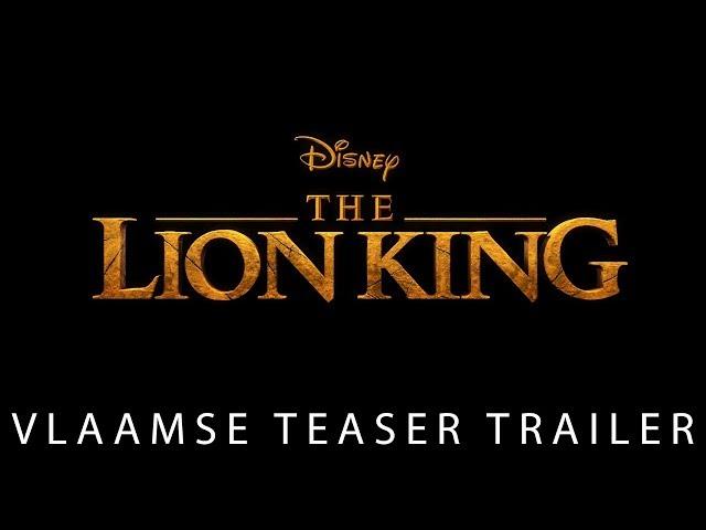 The Lion King (2019) | Vlaamse Teaser Trailer | Disney BE