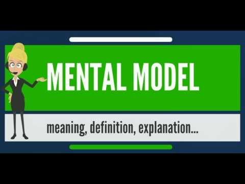 What is MENTAL MODEL? What does MENTAL MODEL mean? MENTAL MODEL meaning, definition & explanation