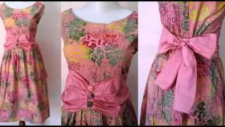 dress batik solo model baju pesta airin 03