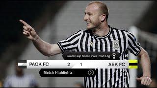 Τα στιγμιότυπα του ΠΑΟΚ-ΑΕΚ - PAOK TV