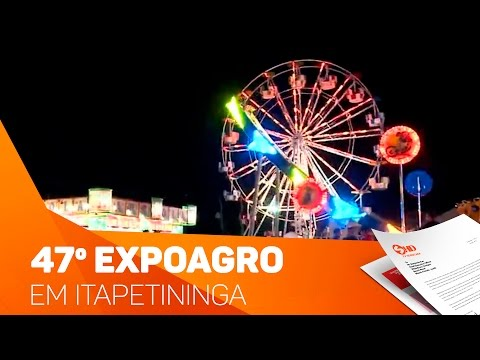 47º Expoagro em Itapetininga - TV SOROCABA/SBT
