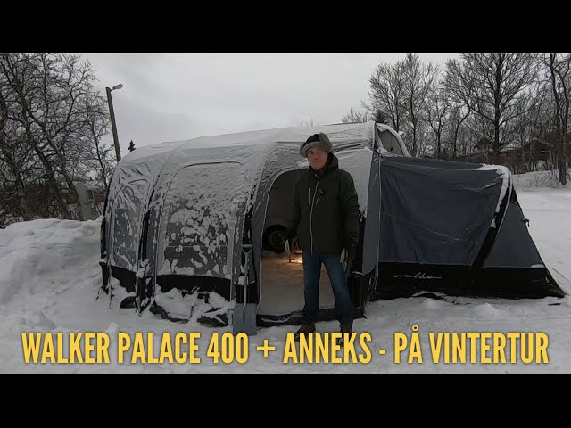 Walker Palace 400 med anneks