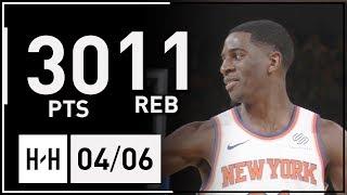 Gambar cover Damyean Dotson Full Highlights Heat vs Knicks (2018.04.06) - 30 Pts, 11 Reb!