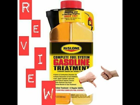 Review of Rislone Gas Fuel System Treatment....