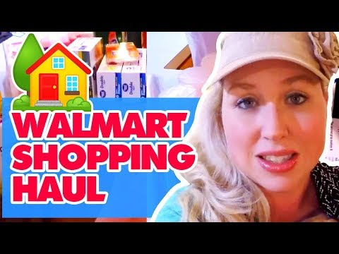 🚐  Large Family Walmart Household Shopping Haul 🏡  | $200 w/ diapers, detergent, + more!