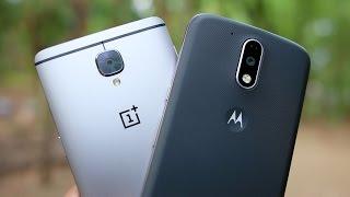 OnePlus 3 vs Moto G4 Plus Camera Comparison