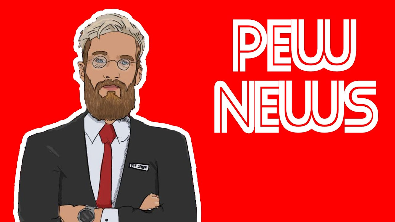 PewDiePie Pew News In 80s - YouTube