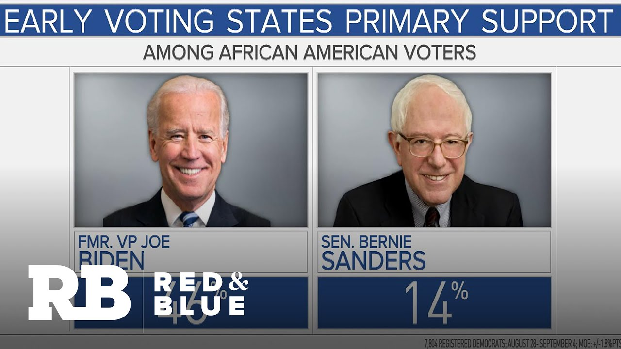 African American Democrats back Biden and Sanders in primary field