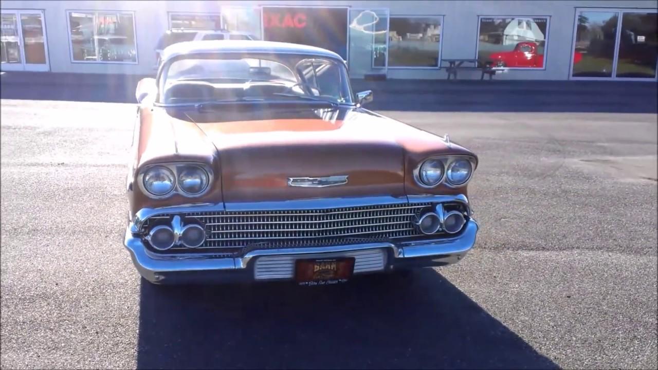 Impala 1958 chevrolet impala : 1958 Chevrolet Impala - YouTube