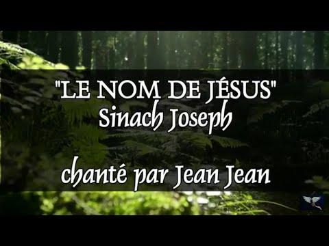 """""""Le nom de Jésus"""" #sinachjoseph chanté par Jean Jean"""
