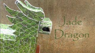 automaton - papercraft - jade dragon - dutchpapergirl