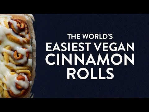 The World's Easiest (VEGAN) Cinnamon Rolls | Minimalist Baker