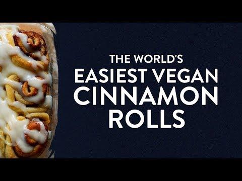 The World's Easiest (VEGAN) Cinnamon Rolls | Minimalist Baker