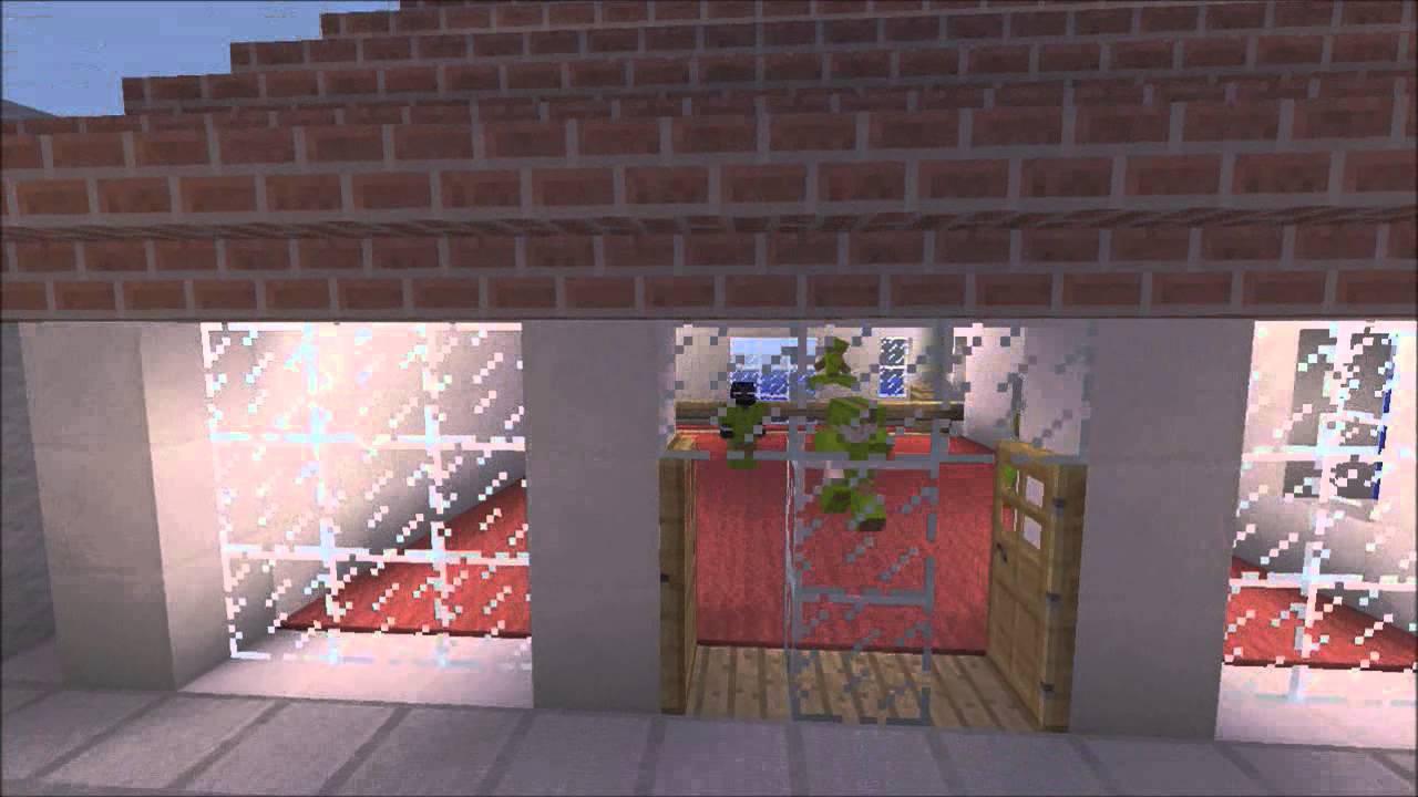 Minecraft Xbxo 360 Small Plaza Jewelry Store Coffe Shop